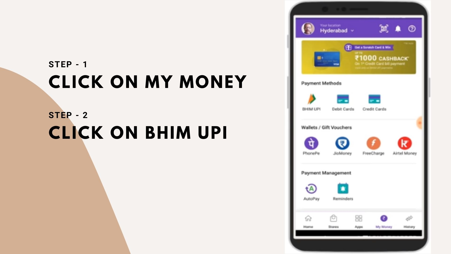phonepe application and now you have forgotten upi pin