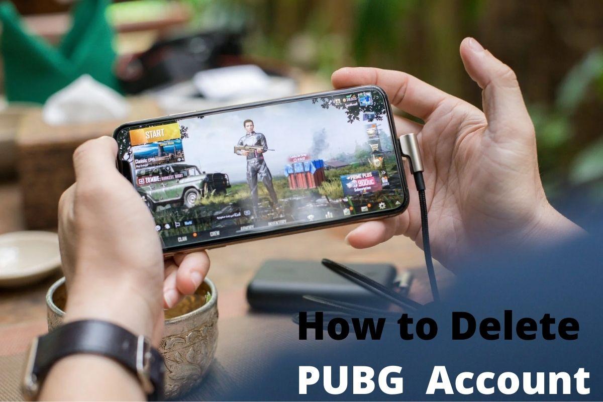 How to Delete PUBG Account