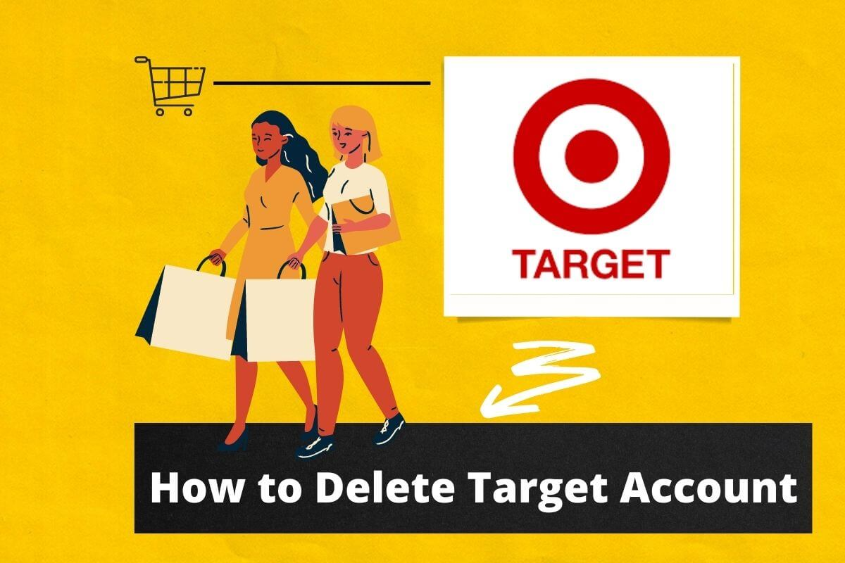 how to delete target account