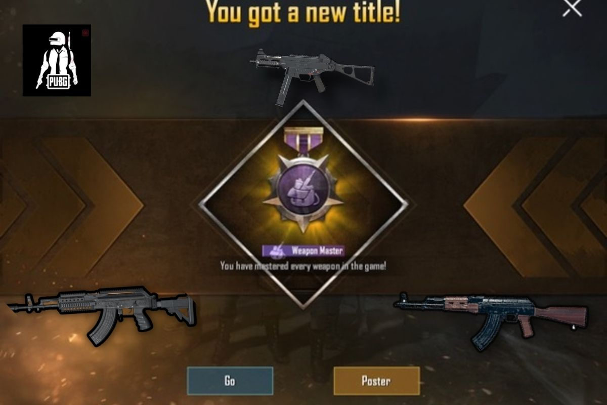 how to get weapon master in pubg